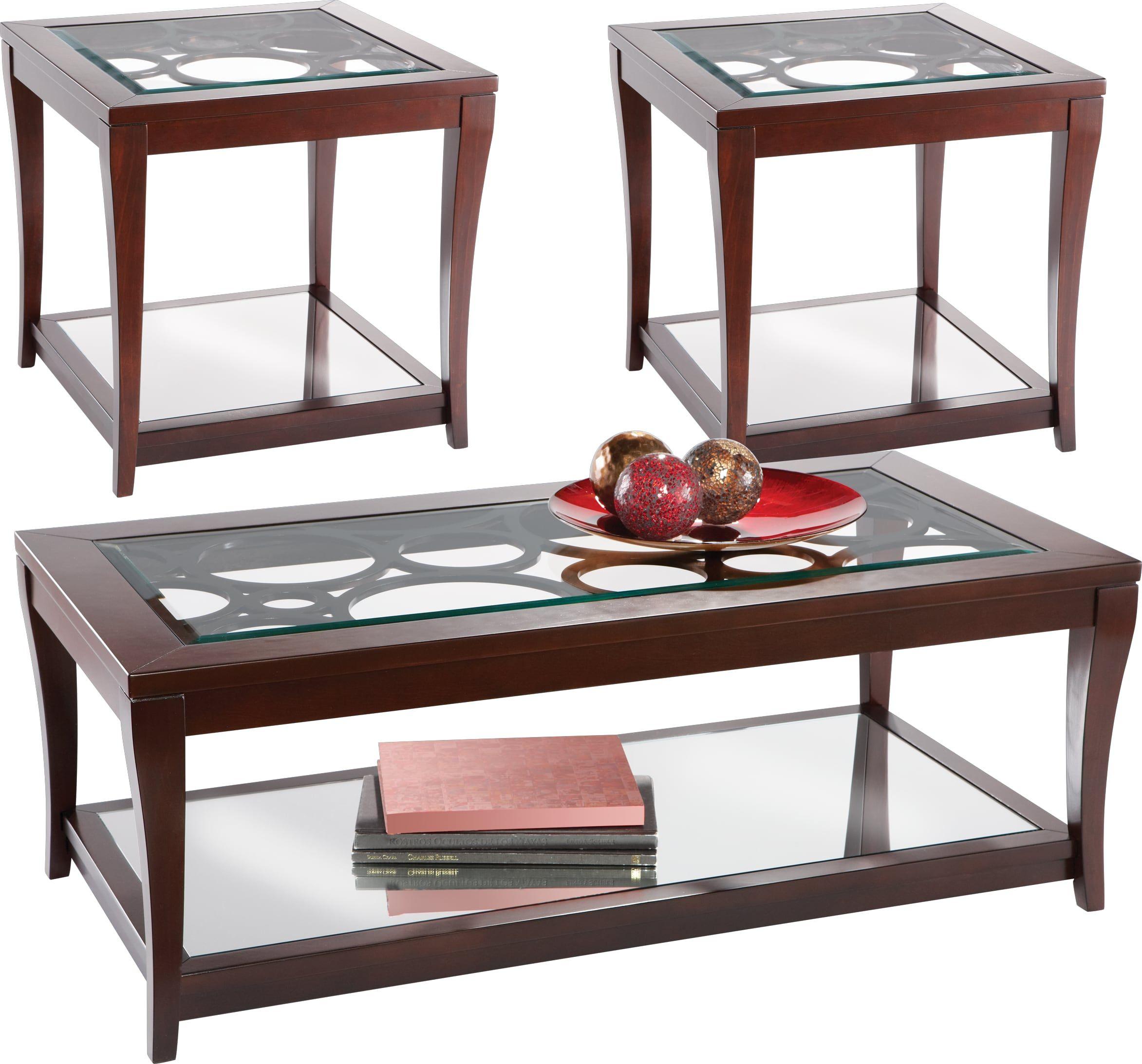 Best Westfield Ebony 3 Pc Table Set In 2019 Living Room Table 400 x 300