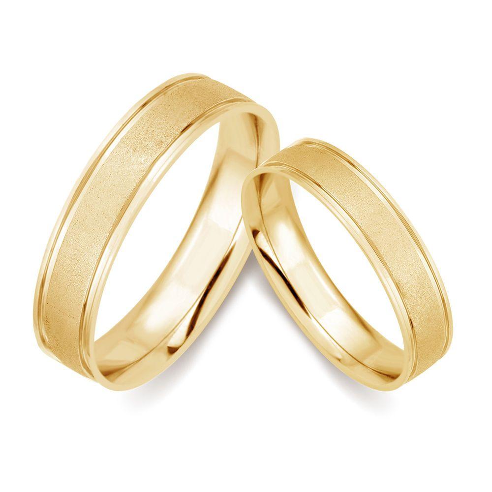 10k Yellow Gold Men Women Engagement Wedding Matching Promise