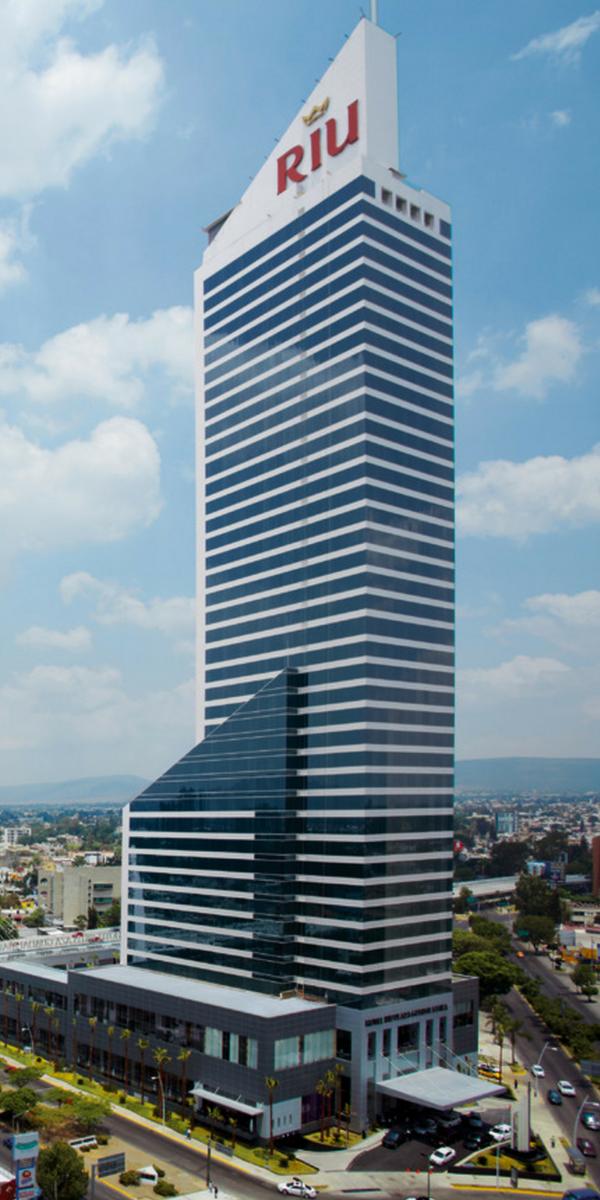 Hotels In Panama City Beach >> Riu Plaza Guadalajara - The highest hotel in Guadalajara, Mexico. - Urban Hotel | Tips de ...