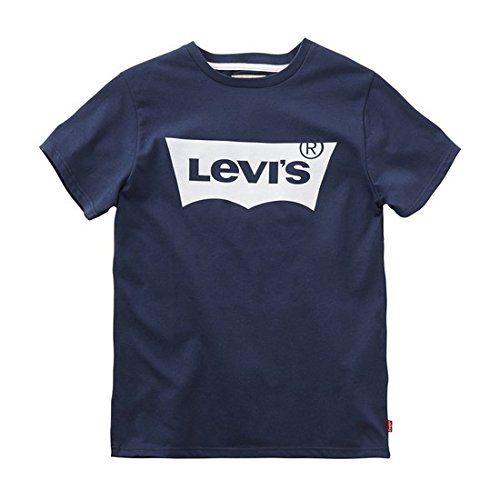 Levi's N91004H T Shirt Garçon Bleu (Marine 04) FR: 4