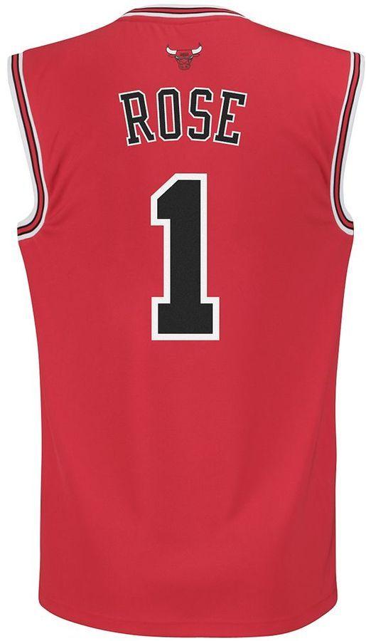 b0c09cf625e7 Men s adidas Chicago Bulls Derrick Rose Revolution Jersey https   api. shopstyle.