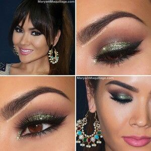Ideas from Beautylish. This look brings out brown eyes.