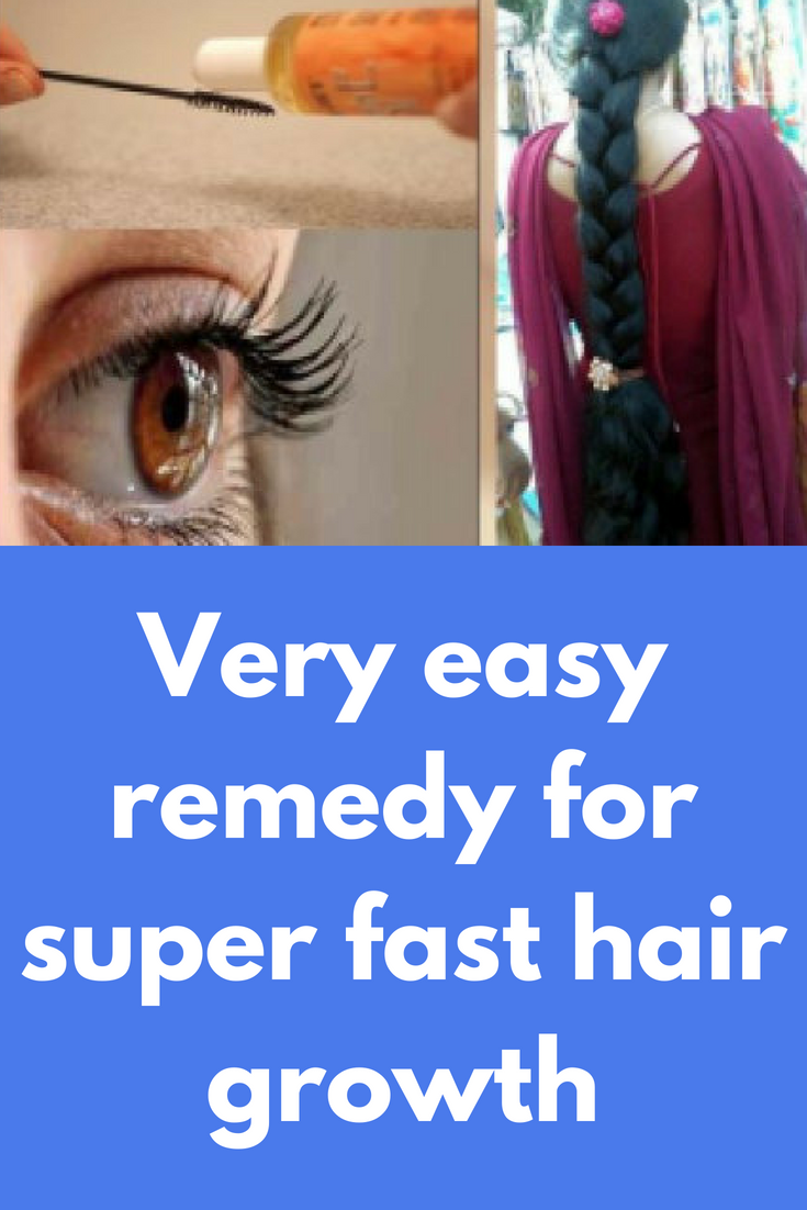 Very easy remedy for super fast hair growth What you need to do just