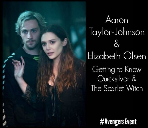 Aaron Taylor Johnson And Elizabeth Olsen Interview Getting To