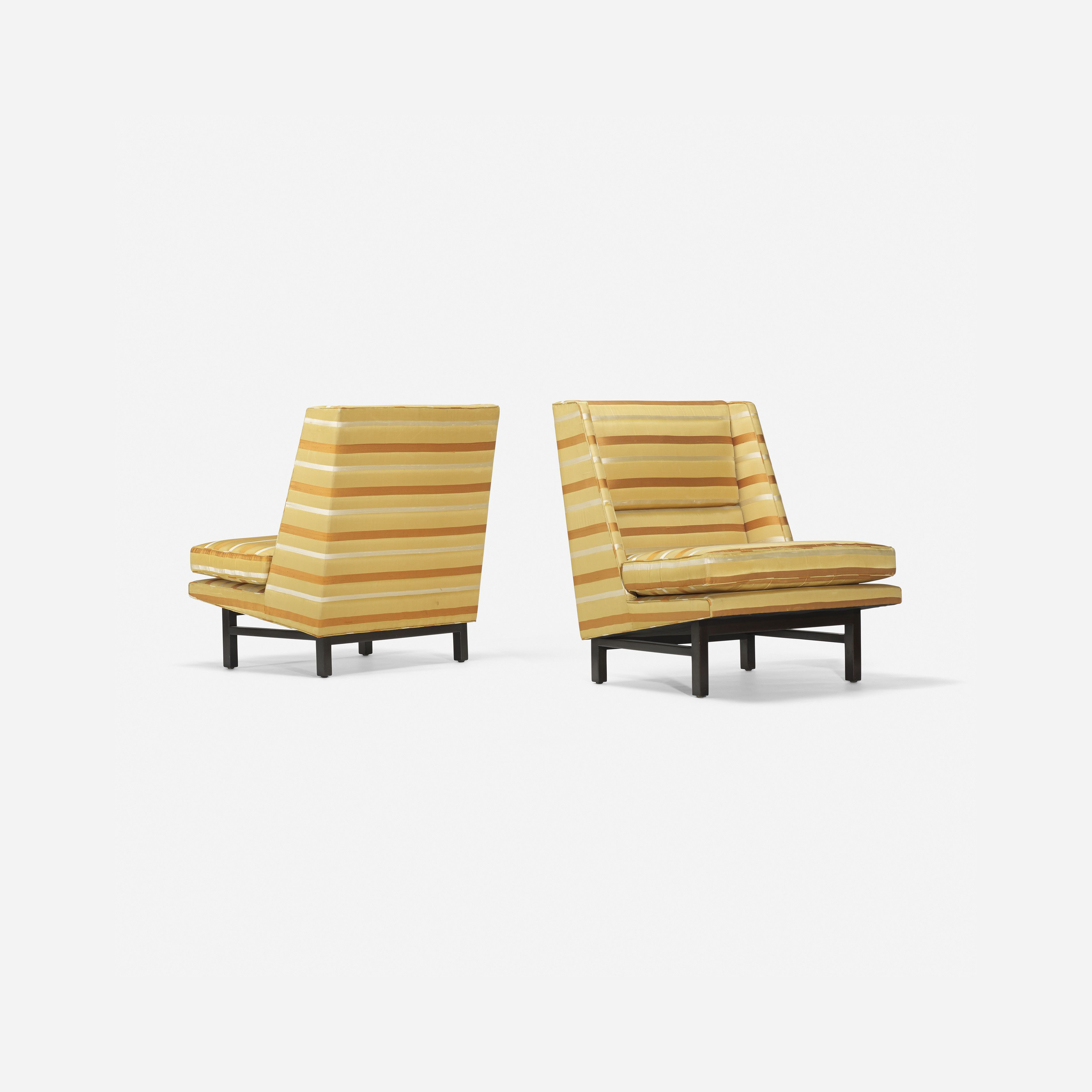382: Edward Wormley / lounge chairs, pair < Design, 26 March 2015 < Auctions | Wright