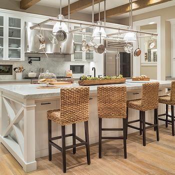 Seagr Counter Stools Transitional Kitchen Benjamin Moore