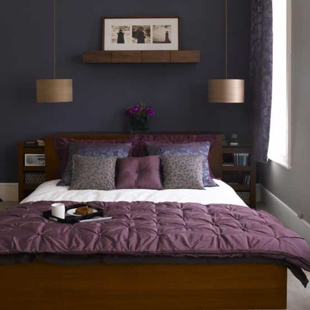 Plum And Grey Bedroom Ideas Small Bedroom Inspiration Eclectic