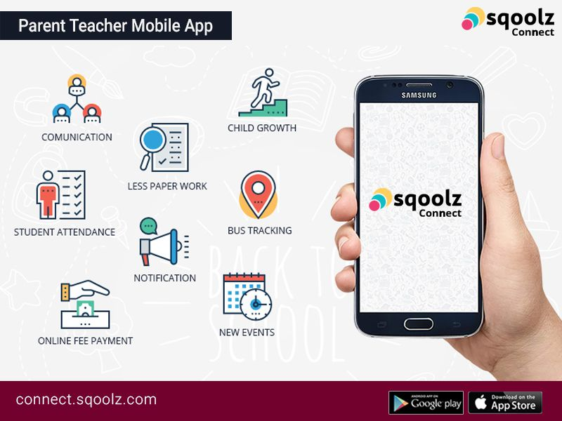 Sqoolz Connect Userfriendly and Reliable Parent Teacher
