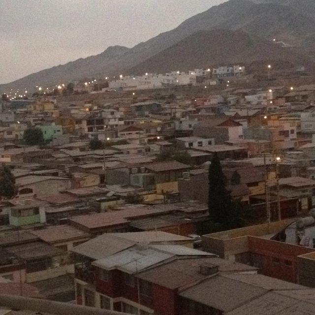 Amanecer en Antofagasta