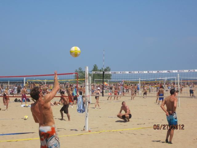 Chicago North Ave Beach Volleyball Google Search Beach Volleyball Chicago Volleyball