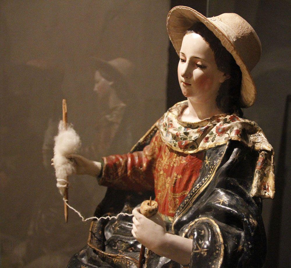 La Divina Pastora, atribuido a Bernardo de Legarda - Escuela Quiteña