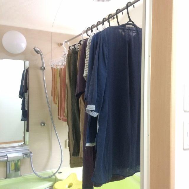 バス トイレ バスルーム 家事 お風呂 浴室乾燥 などのインテリア実例
