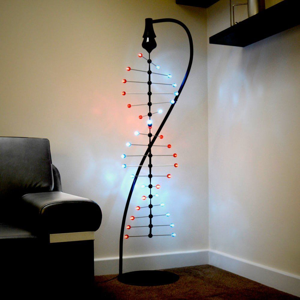 Spiral Helix Light Fancycom Likes Pinterest Lighting How To Build Dancing Leds Inspired Home The Led Can Only Be Described As Dna Helixs Visual Effect Is Created By 2 Hanging Threads Of