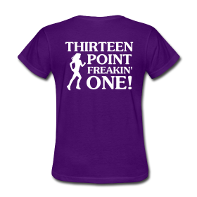 · ♥♡♥ · iRun v13.1 · $19.99 · This is the women's style, men's available. This is half marathon, full marathon also available as well as multiple colors to choose from. Grab yours today! :)