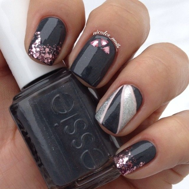 Color French Manicure Ideas Cute Nail Colors Cute Easy Nail