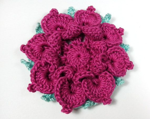 Fiori 3d Uncinetto.3 D Crochet Flower Large Flower Big Crochet Flower Women S