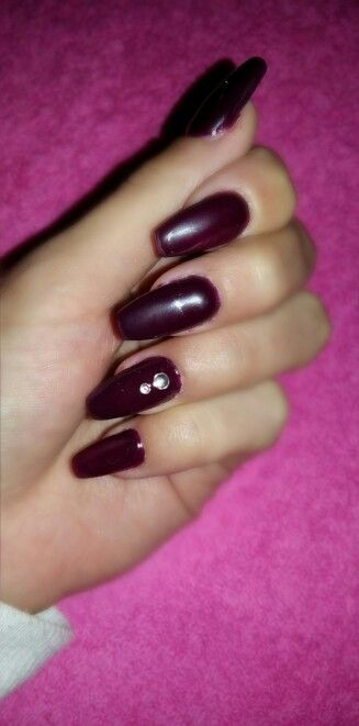 Uñas de gel  con tips y esmaltado  semipermanente #Nails #nailsart