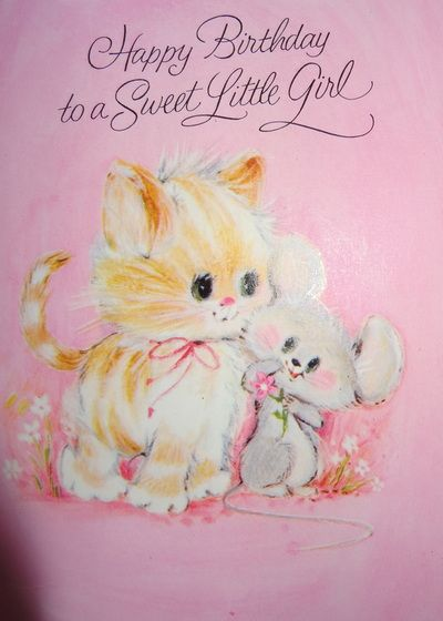 Vintage Children's Greetings Cards - My Old Toy Box