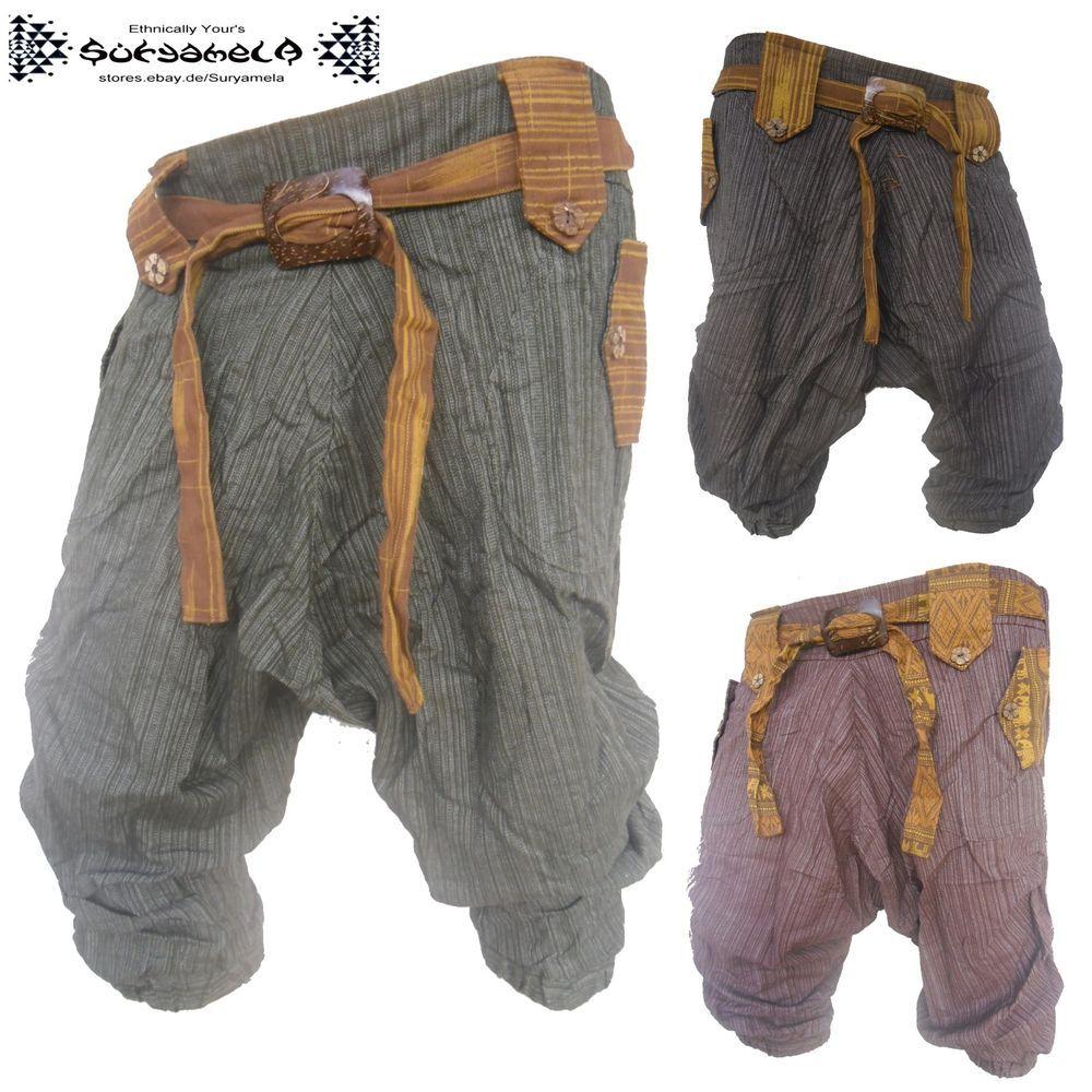 Pluderhose pumphose Aladin-Hose Harem Pants goa hippie ethno yoga ...
