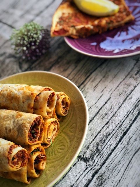 Photo of False Turkish pizza in 7 minutes – Lahmacun wrap
