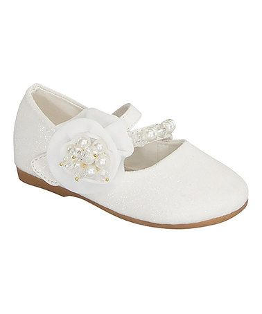 This White Candie Mary Jane is perfect! #zulilyfinds