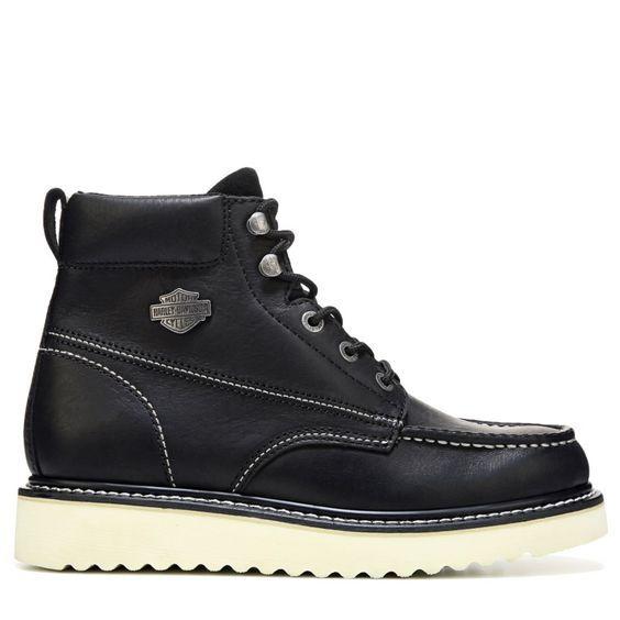 e70f0b9bc60 Men's Candler Moc Toe Boot | Motorcycle | Harley davidson mens boots ...