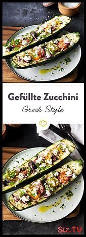 zucchini Greek Style are first grilled and then with quinoa colorful tomato  These zucchini Greek Style are first grilled and then with quinoa colorful tomato  These zucc...
