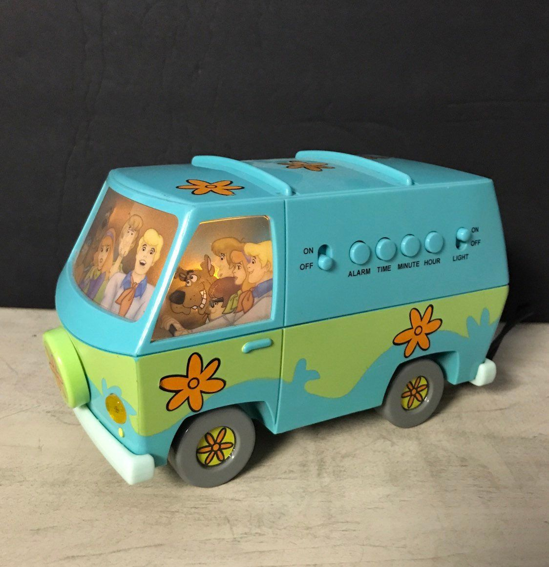 Vintage Scooby Doo Van Alarm Clock And