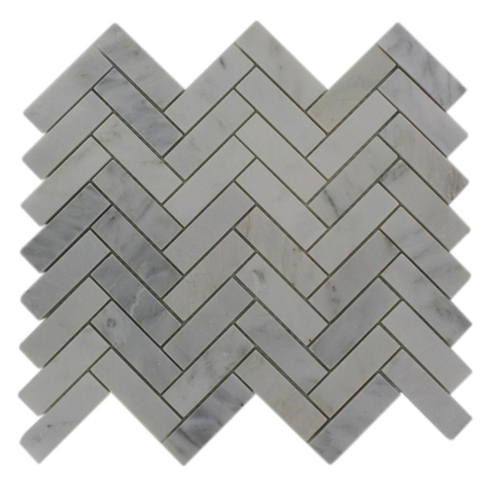 Splashback tile oriental sculpture herringbone 12 in x 12 in x 8 splashback glass tile oriental sculpture herringbone 12 in x 12 in marble mosaic floor dailygadgetfo Choice Image