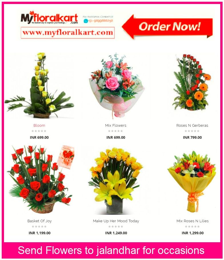 Send Flowers To Jalandhar For Occasions Like Anniversary Wedding Birthday Etc With Our Best Coll Order Flowers Online Same Day Flower Delivery Order Flowers