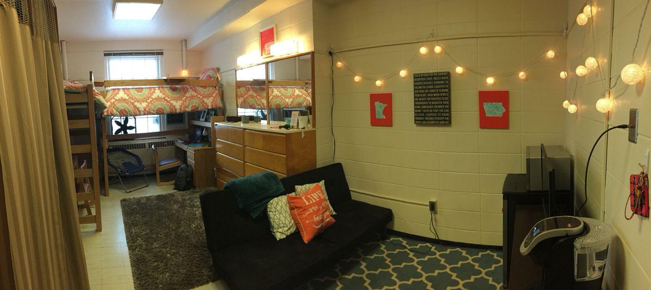 Iowa State University Dorm Room Panorama With Images Iowa