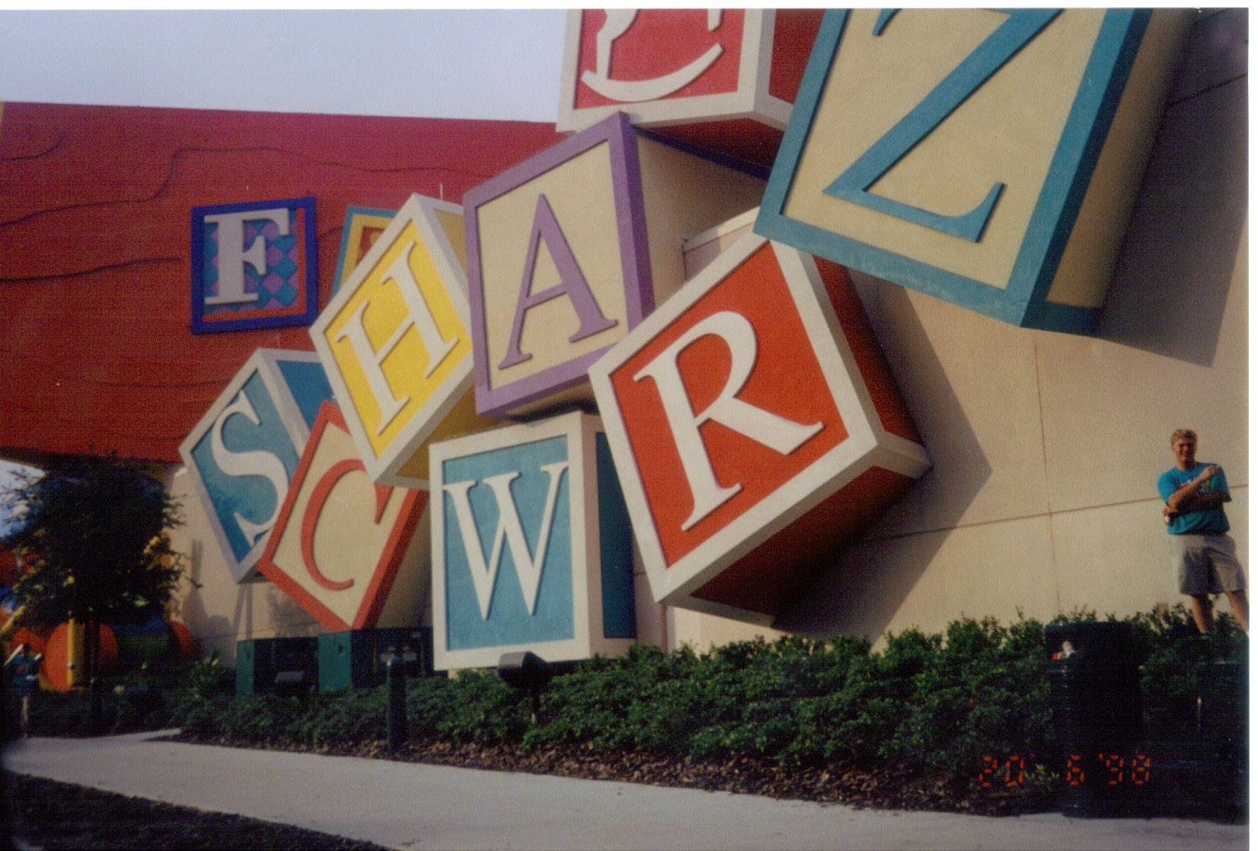 FAO Schwarz  My favorite toy store to this day !!!!  Orlando Florida