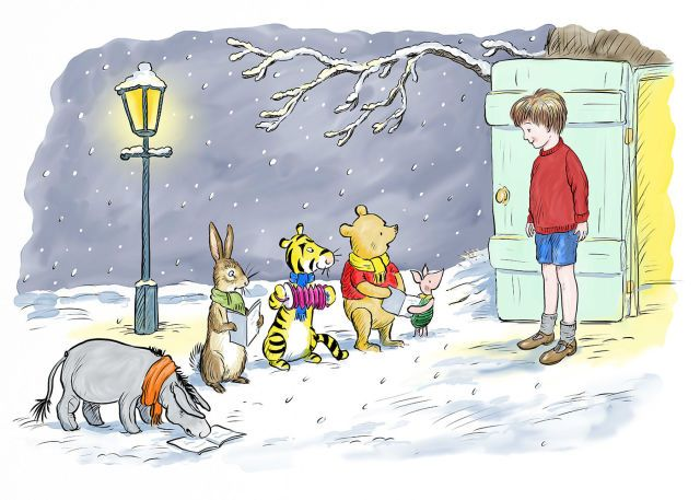 Dying Christmas Traditions Worth Saving, as told by Winnie the Pooh
