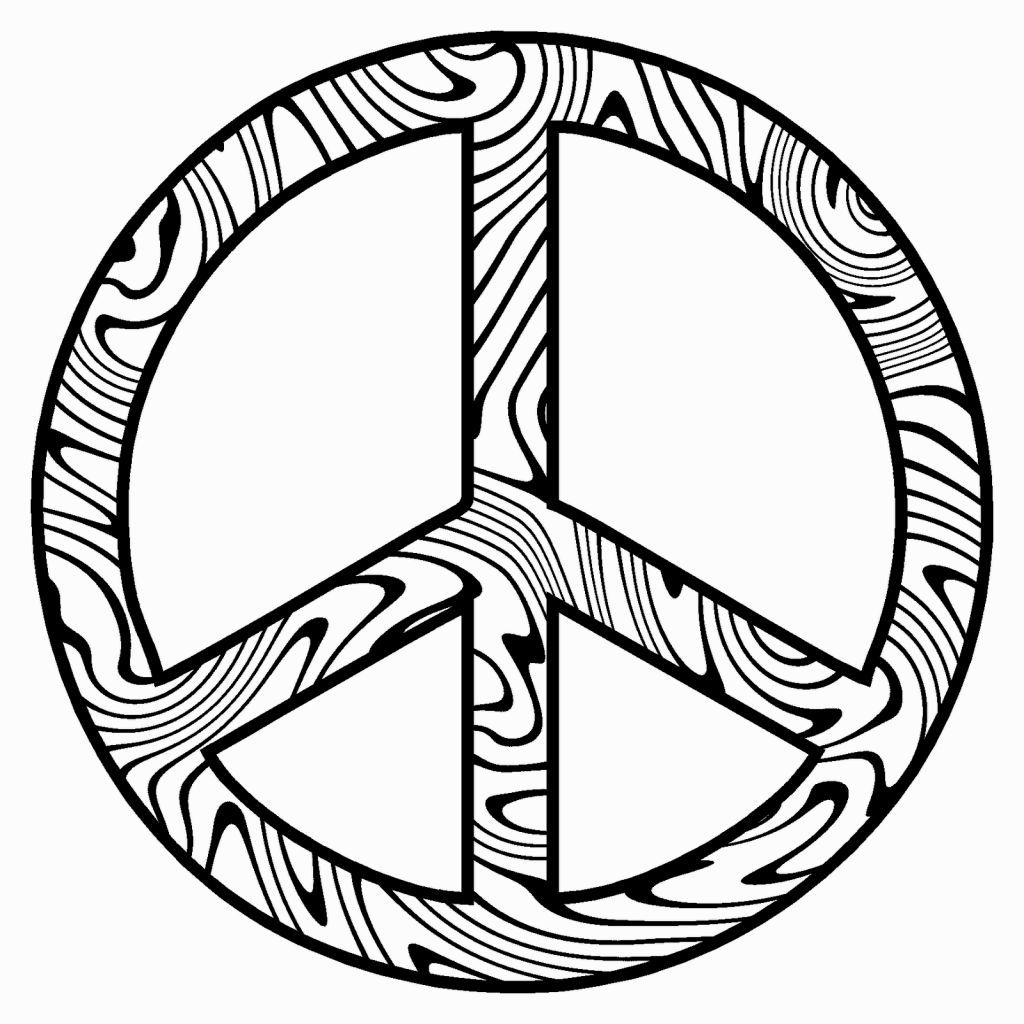 coloring pages of peace signs coloring pages pinterest peace