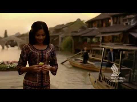 Singapore Airlines TV ad. Amazing editing.