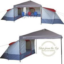 Ozark Trail 4 Person Family Big C&ing Tent for 10x10 Canopy C& Sun Shade  sc 1 st  Pinterest & Ozark Trail 4 Person Family Big Camping Tent for 10x10 Canopy Camp ...