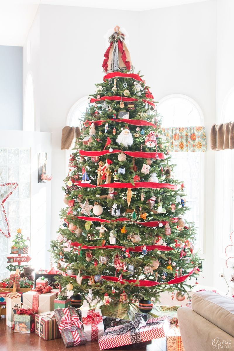 How To Decorate A Real Christmas Tree Christmas Decorations For The Home Christmas Home Holiday Decor