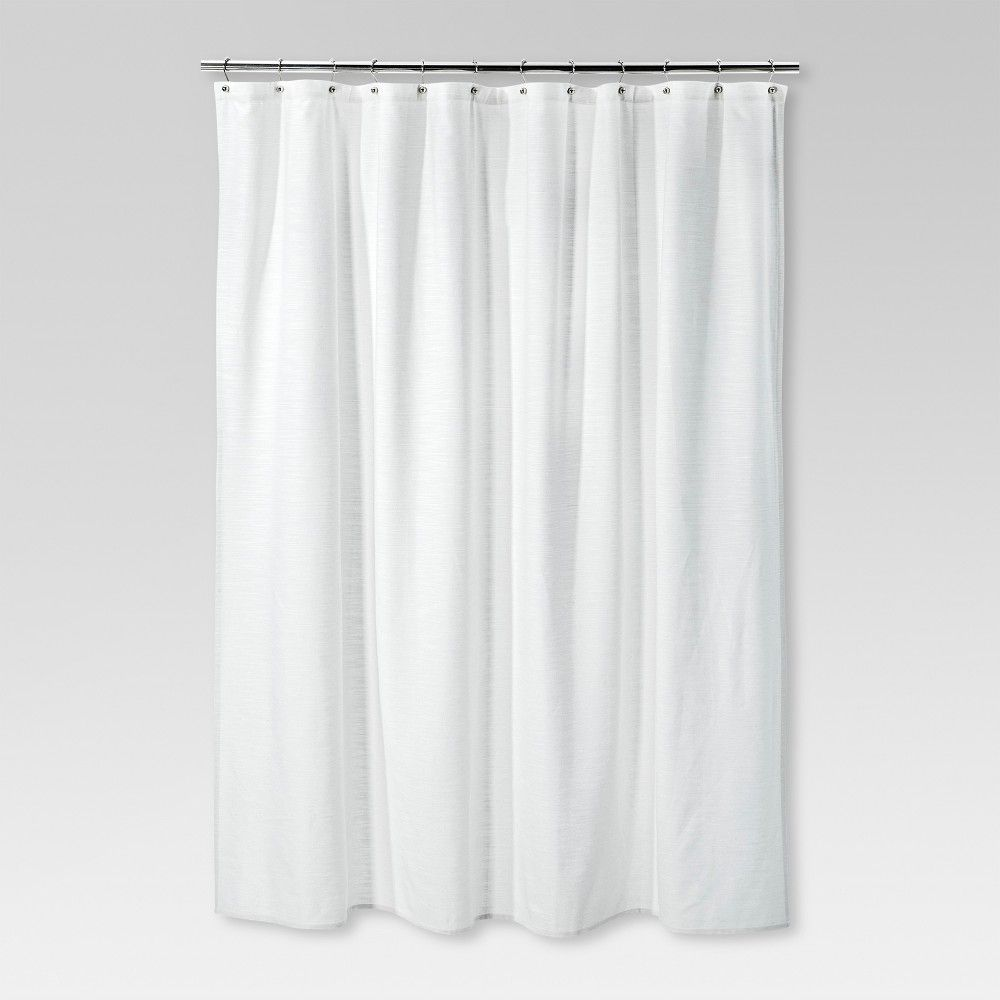 Solid Shower Curtain Cream Threshold White Cream Curtains Curtains Yellow Shower Curtains