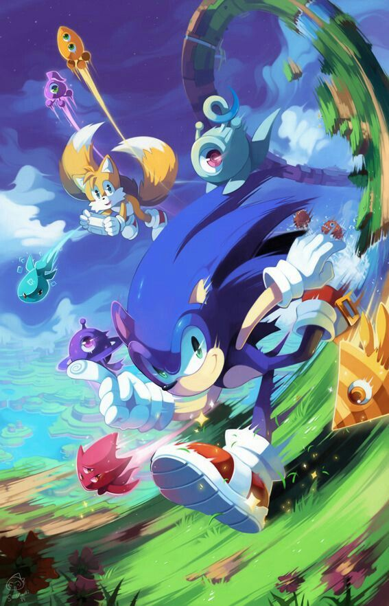 Sonic wisps in windy valley sonic the hedgehog - Jeux de sonic vs shadow ...