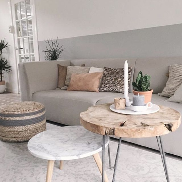 Decor Inspiring Marble Coffee Table For Living Room: Love Her Details Cred: @carberg05
