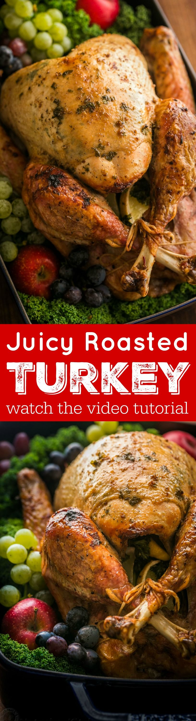 Making a juicy and flavorful Thanksgiving Turkey is easier
