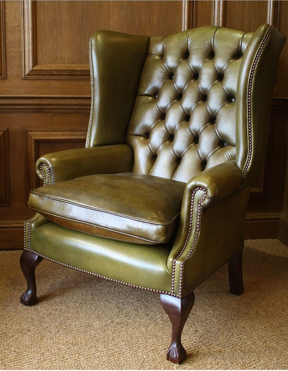 Pin by Katrin Eagle on Armchairs (With images) Wingback