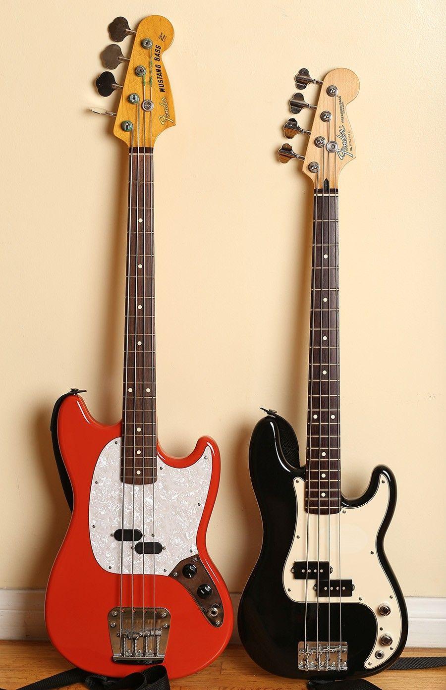 Fender Mustang Fender Precision Jr Basses Bass Guitar Guitar Bass