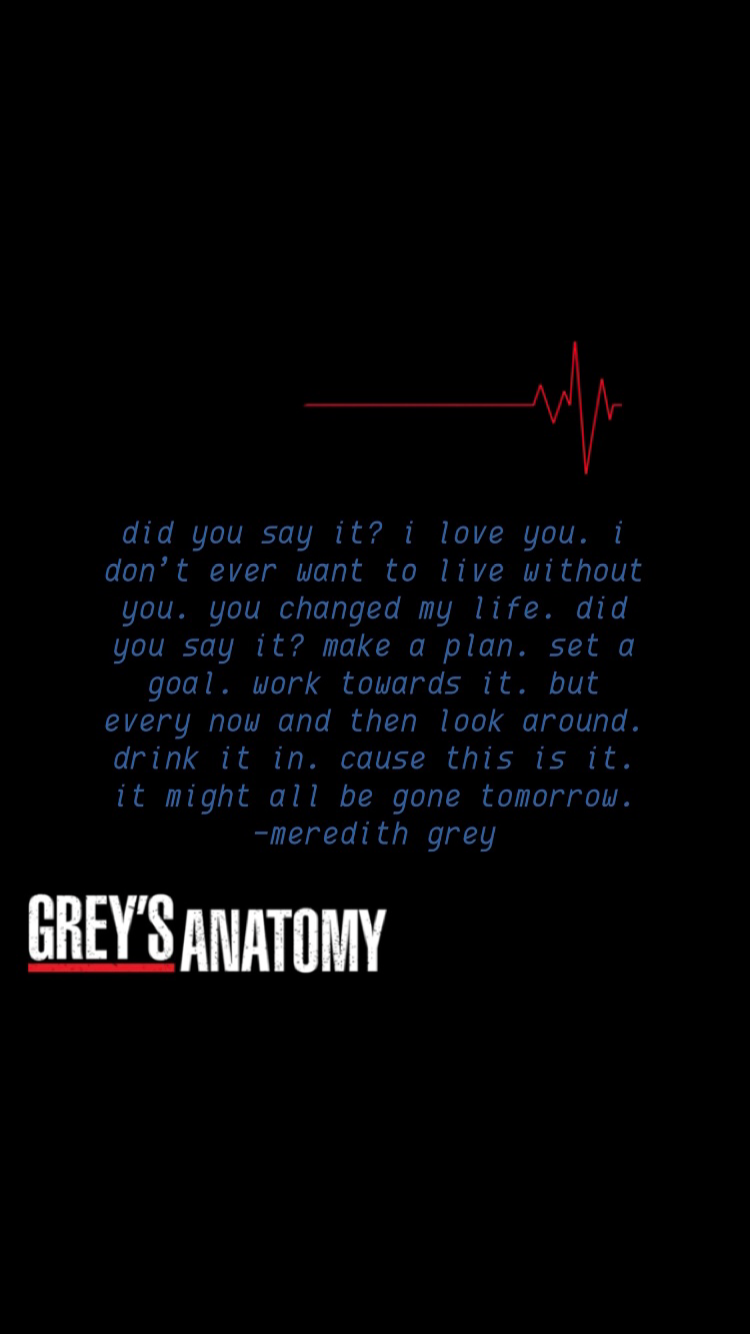 Pin By Stephanie Schlosser On Movies Shows Anatomy Quote Grey Anatomy Quotes Grey S Anatomy Quotes