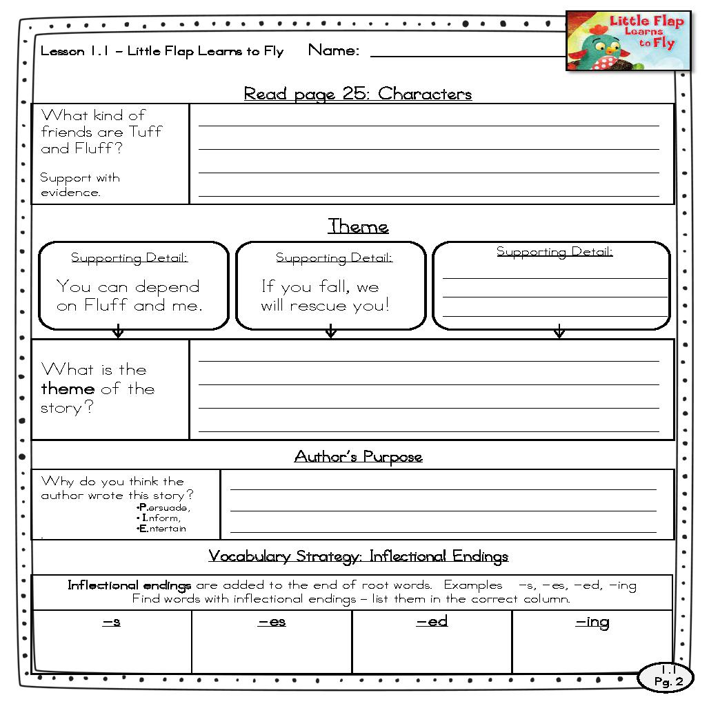 - 2nd Grade - McGraw Hill Wonders - Close Reading Sheets :) Units 1