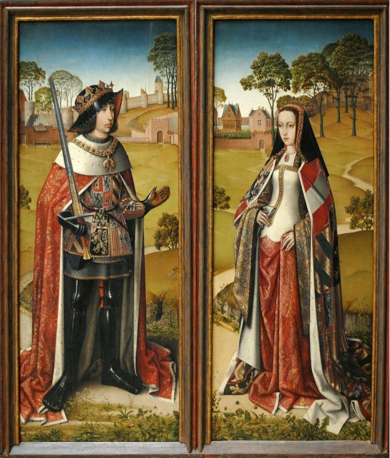 Los reyes Juana La Loca y Felipe El Hermoso