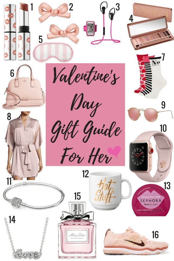 Valentine's Day gift guide for her. #valentinesday #giftguide #giftsforwomen #Cu…
