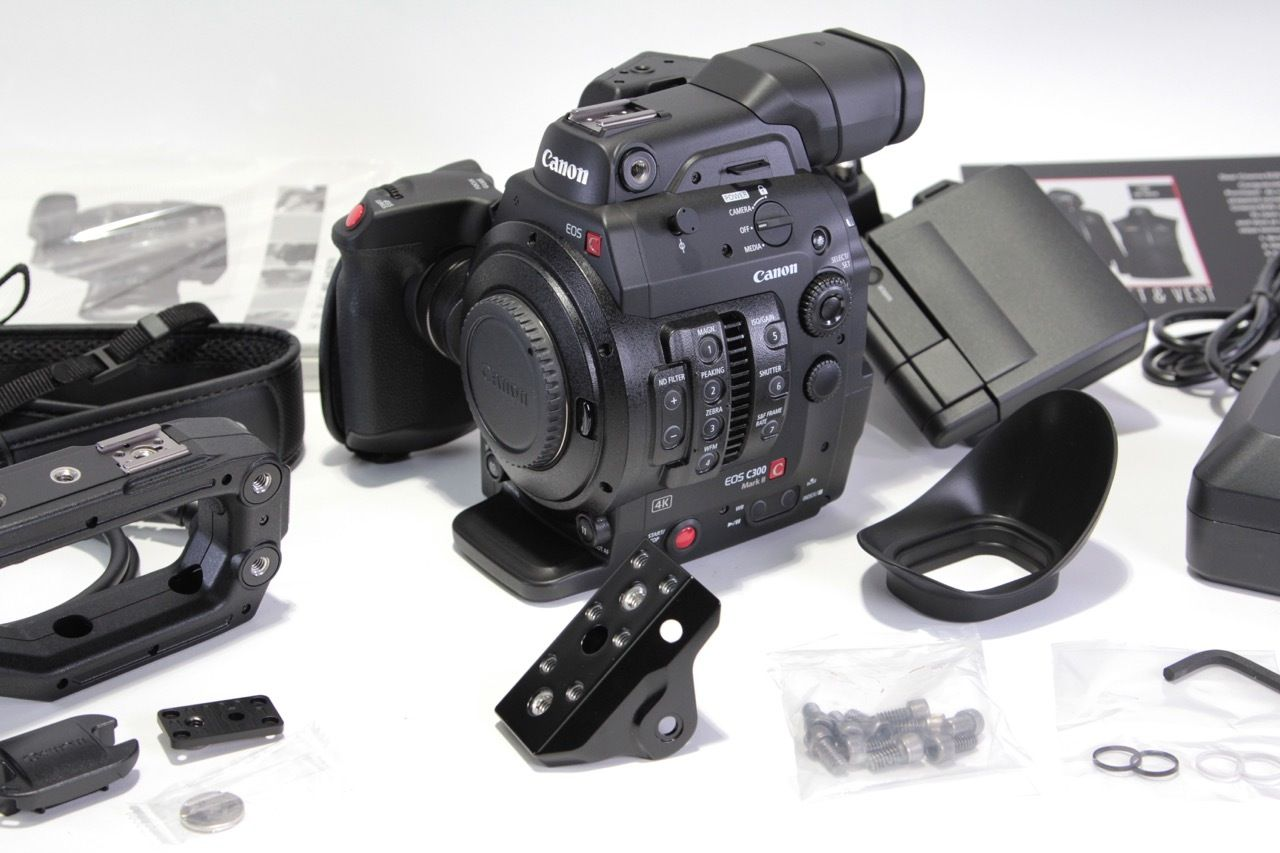 The new Canon C300 Mark II is now in-house and available to BUY or