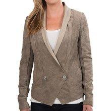 EMU Kalumburu Suede Jacket (For Women) in Birch - Closeouts