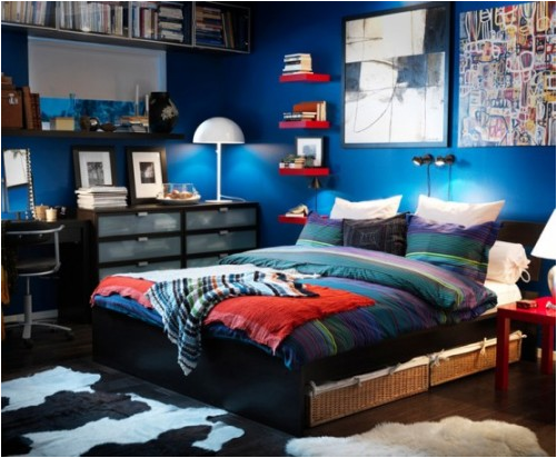 Boys Room Design Ideas beautiful blue Design Ideas For Boy Bedroom